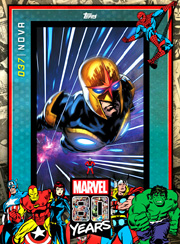 Marvel 80th Anniversary Card #37
