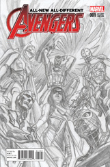 All-New, All-Different Avengers #1 Alex Ross Sketch Variant