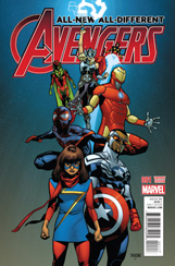 All-New, All-Different Avengers #1 Mahmud Asrar Variant