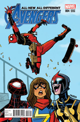 All-New, All-Different Avengers #4 Deadpool Variant