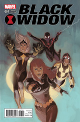 Black Widow #7 Champions Variant