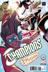 Champions #1 Third Eye Comics Variant