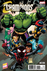 Champions #1 Comicave Asia Pop-Con Variant