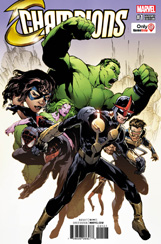 Champions #1 Game Stop Variant