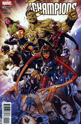 Champions #1 Mark Brooks Variant
