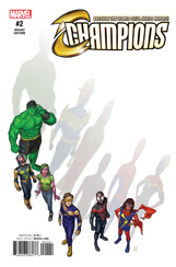 Champions #2 Michael Choi Variant