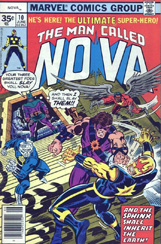 The Man Called Nova #10 35 Cent Variant