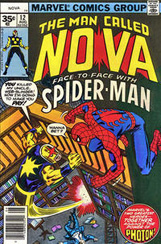 The Man Called Nova #12 35 Cent Variant