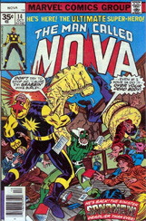 The Man Called Nova #14 35 Cent Variant