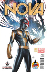 Nova (2013) #1 Forbidden Planet Variant