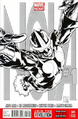 Nova (2013) #1 Joe Quesada Sketch Variant