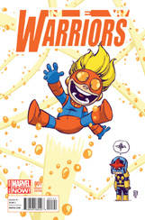 New Warriors (2014) #1 Animal Variant