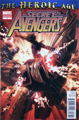 Secret Avengers #3 2nd Printing Variant